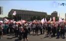 Tüntetett a Sanitas